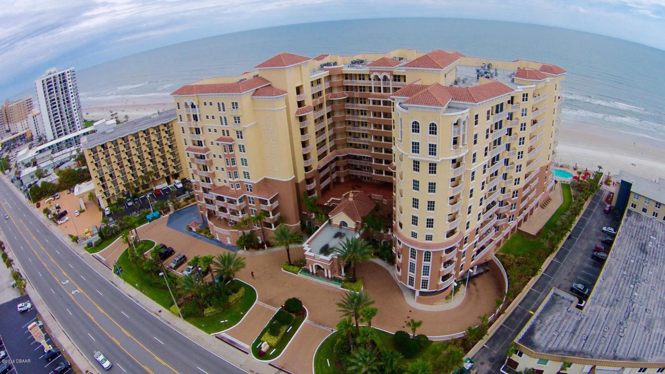 bella vista  ocean front condos daytona beach for sale